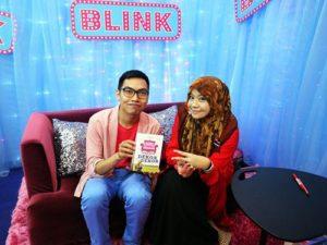 Penulis bersama Ain Maisarah