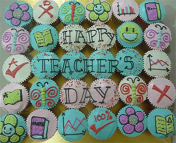 Cupcake Hari Guru