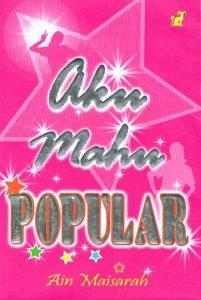 Buku Aku Mahu popular bukan sahaja mempopularkan Ain Maisarah.. Abang Azanil juga turut popular selepas membaca buku ini.