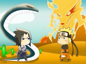 Anime-Naruto-Fox-Snake