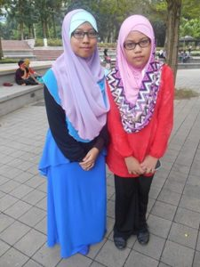 with iman